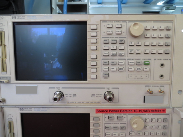 Hewlett Packard / Agilent 8753 ES mit Option 075