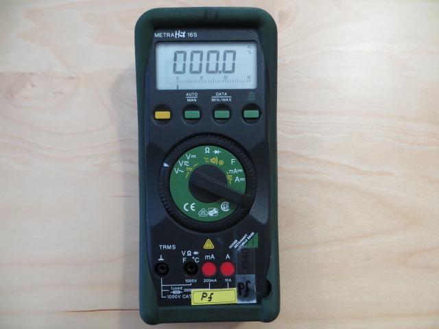 Gossen Metrawatt MetraHit 16 S