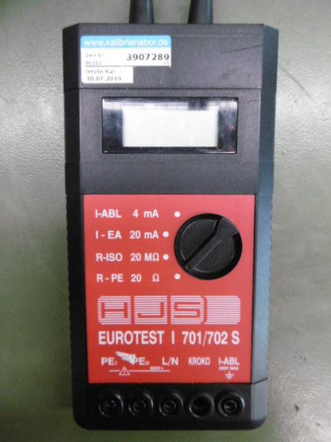 HJS - Elektronik Eurotest I 0701 / 0702 S